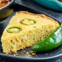 Jalapeno Cornbread perfect for game day chili