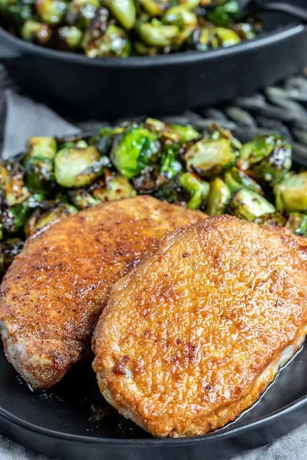 low carb Air Fryer Pork Chops