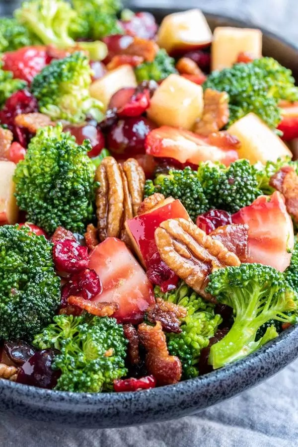 make ahead Broccoli Salad for parties
