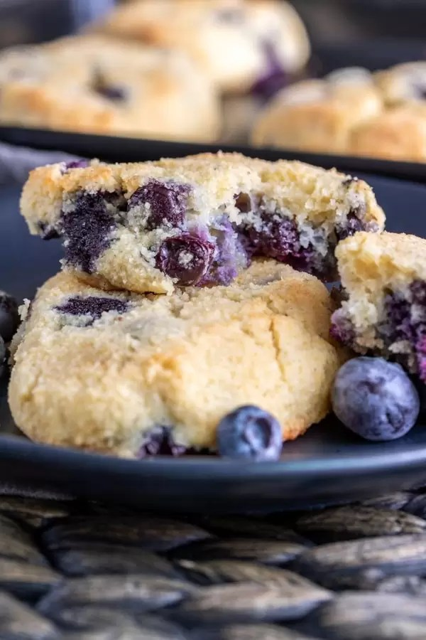 Keto Blueberry Scones great low carb dessert