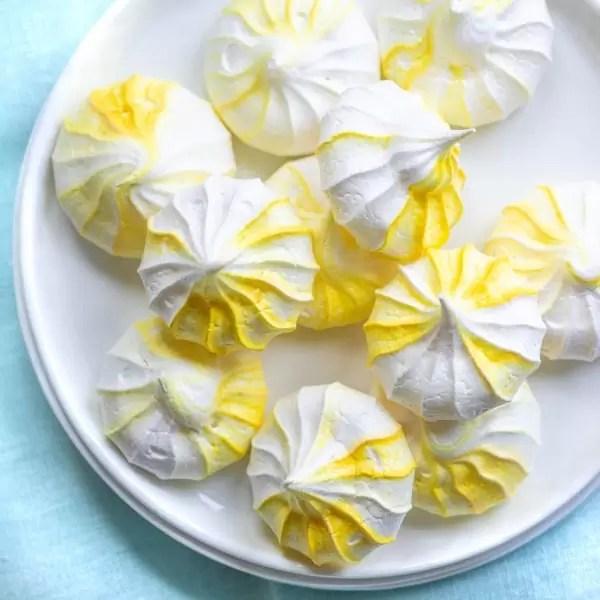 Lemon Meringue Cookies easy make ahead summer dessert
