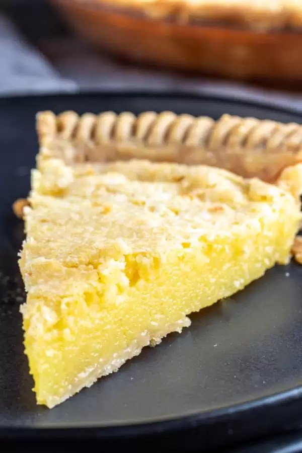 Lemon Chess Pie perfect Easter dessert
