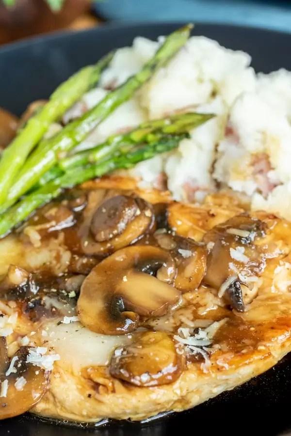 Chicken Madeira easy weeknight dinner recipe