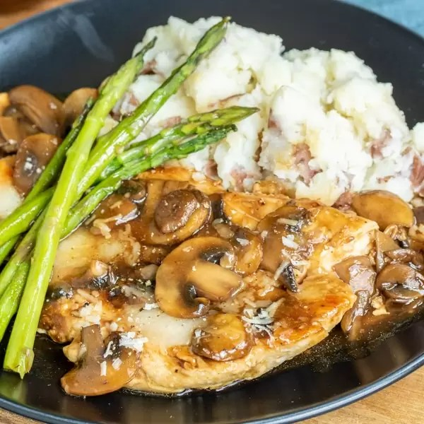 Chicken Madeira is an easy family dinner recipe