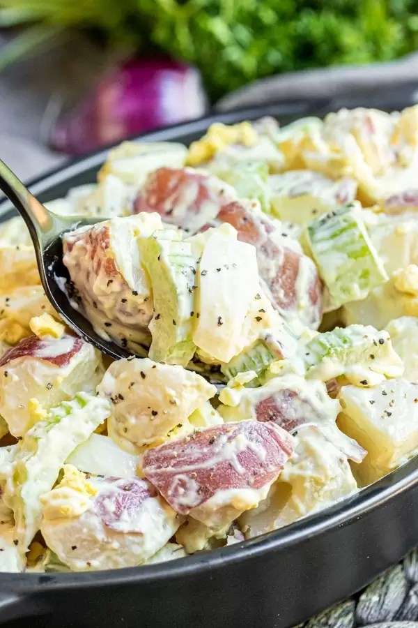 Mustard Potato Salad is a classic recipe that everyone loves