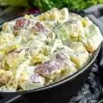 Mustard Potato Salad easy potluck recipe