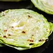 keto Roasted Cabbage