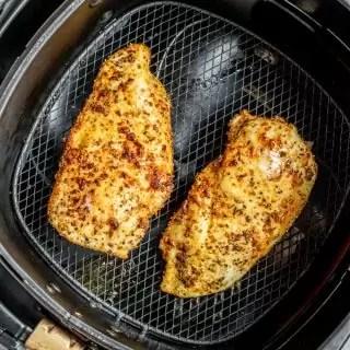 Air Fryer Chicken Breast in air fryer