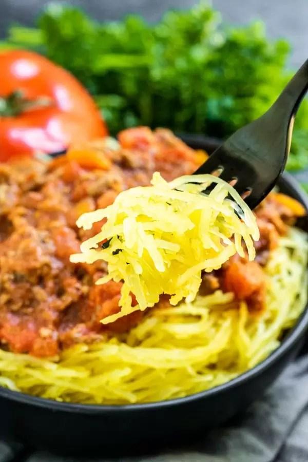 Instant Pot Spaghetti Squash is the best pasta substitute