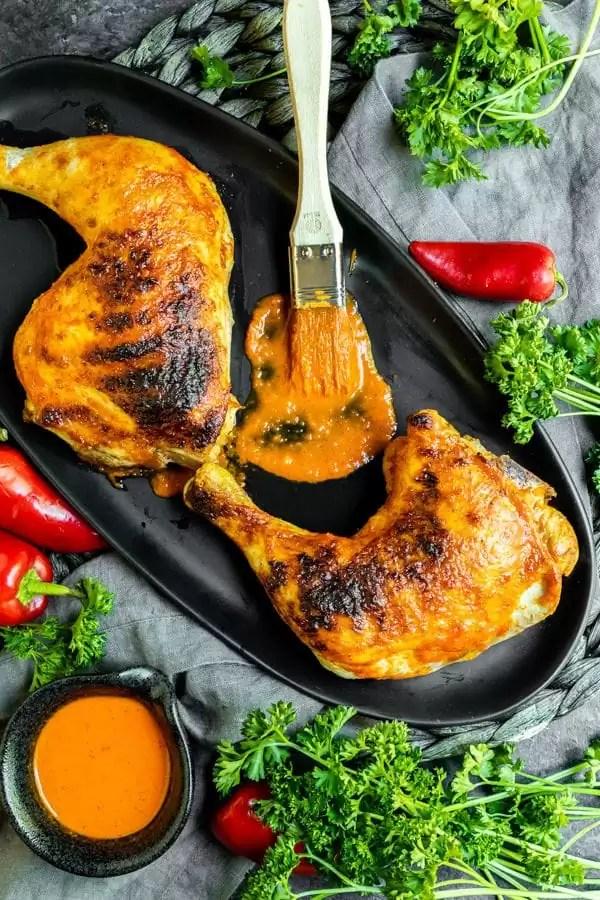 Portuguese Peri Peri Chicken is a spicy low carb chicken recipe