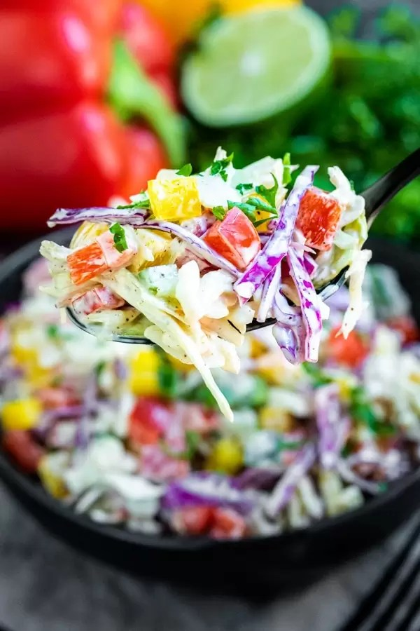 how to make Spicy Jalapeno Coleslaw