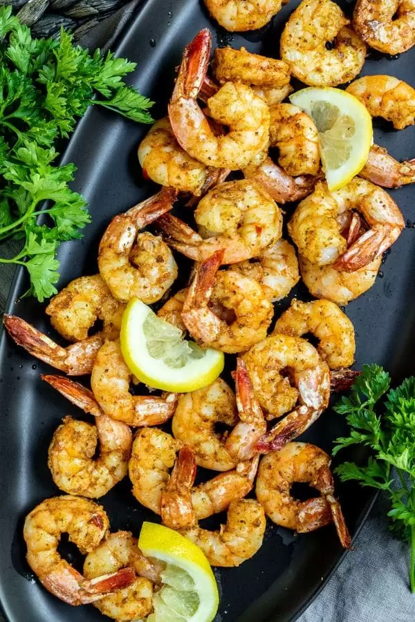 Air Fryer Shrimp is an easy party appetizer made in minutes
