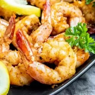 Air Fryer Shrimp is an easy 5 minute meal that's keto