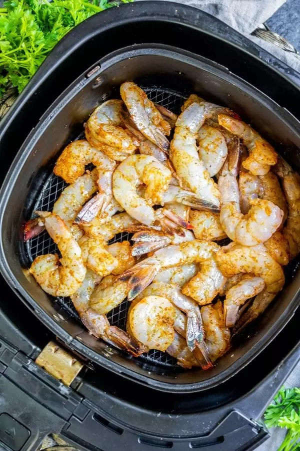 how to make Air Fryer Shrimp