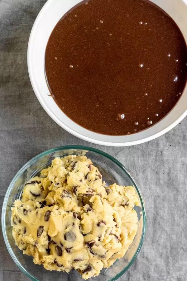 ingredients to make Brookies