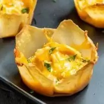 Buffalo Chicken Cups appetizer