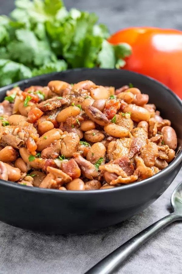 Instant Pot Pinto Beans is a perfect side recipe for BBQ's