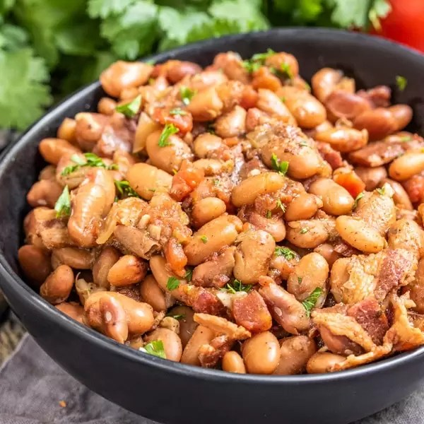 Instant Pot Pinto Beans is an easy Fall side recipe
