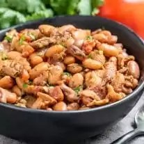 Instant Pot Pinto Beans with bacon