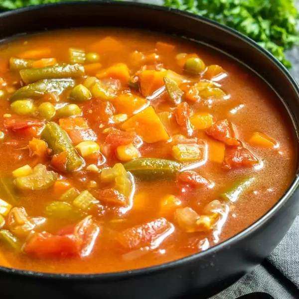 healthy Instant Pot Vegetable Soup