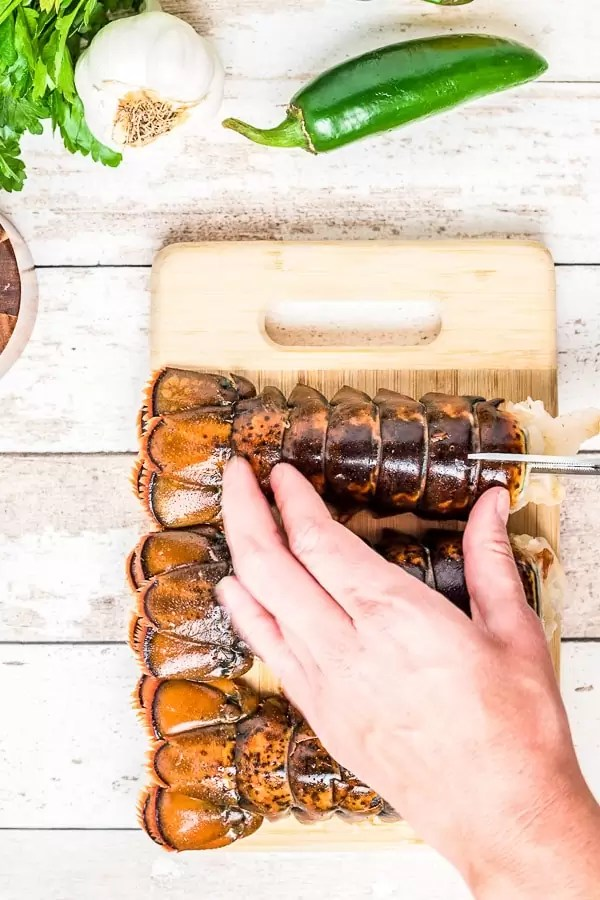 how to prepare a Broiled Lobster Tail