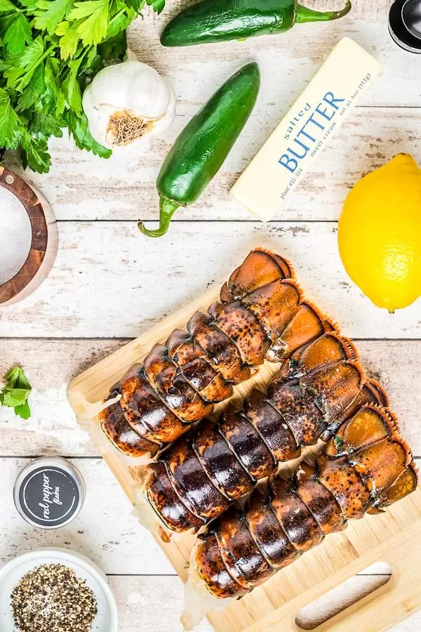 how to prepare Broiled Lobster Tail