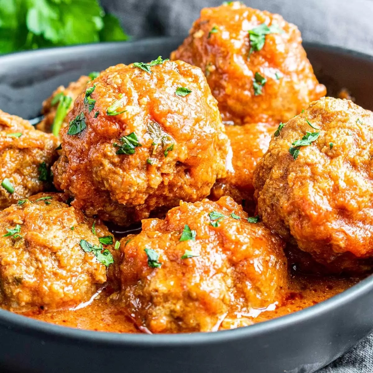 Instant Pot Meatballs with sauce