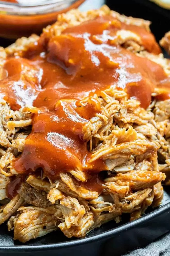 Instant Pot Pulled Pork and BBQ sauce
