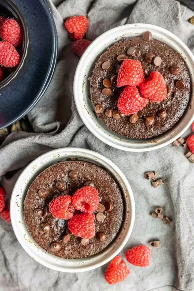 2 Keto Mug Cakes