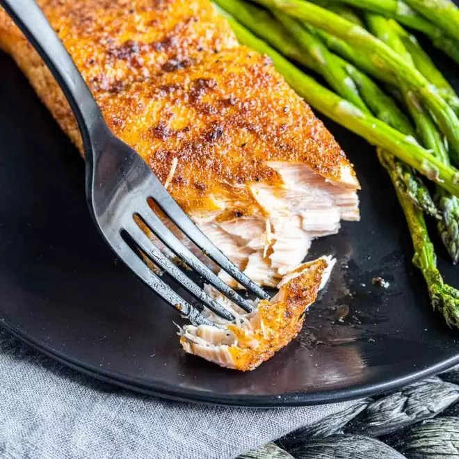 flaky Air Fryer Salmon