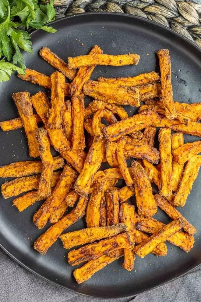 healthy homemade Air Fryer Sweet Potato Fries