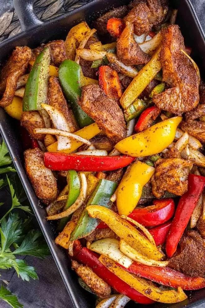 how to make Oven Chicken Fajitas