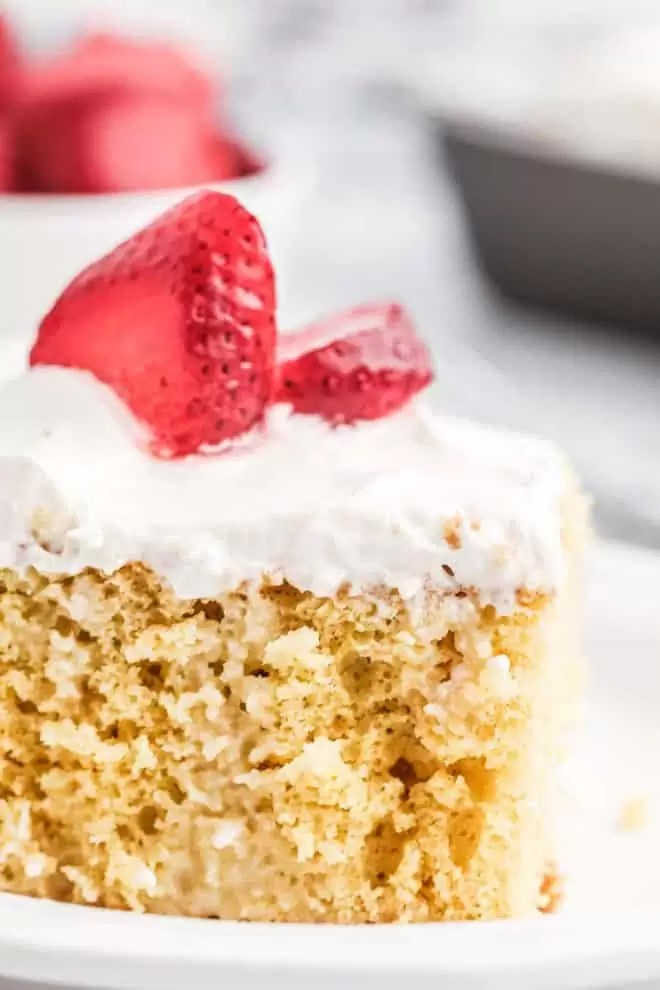moist Mexican Tres Leches Cake