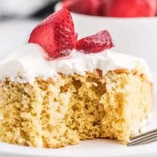 moist Tres Leches Cake