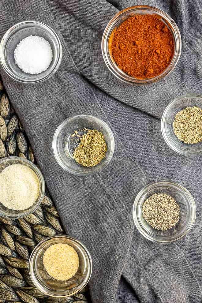 Blackened Seasoning ingredients