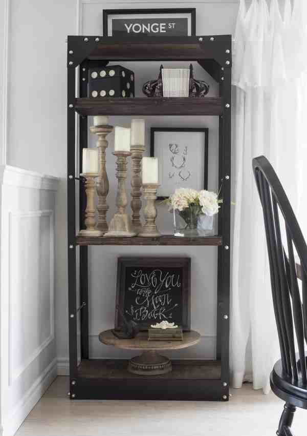 How to Style Bookshelves in 6 Simple Steps