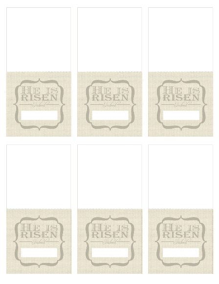 image about Easter Place Cards Printable identified as Free of charge Printable Easter House Playing cards