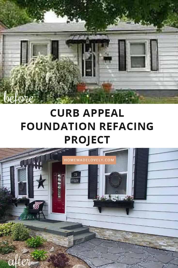 foundation refacing