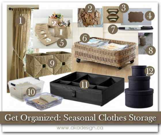 5 Tips For Seasonal Clothes Storage And Organization