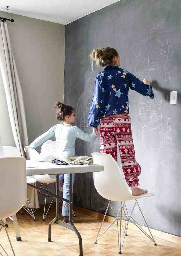 How to Create a Chalkboard Wall in 3 Easy Steps