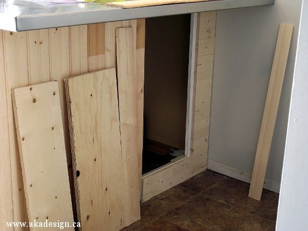 island secret cupboard