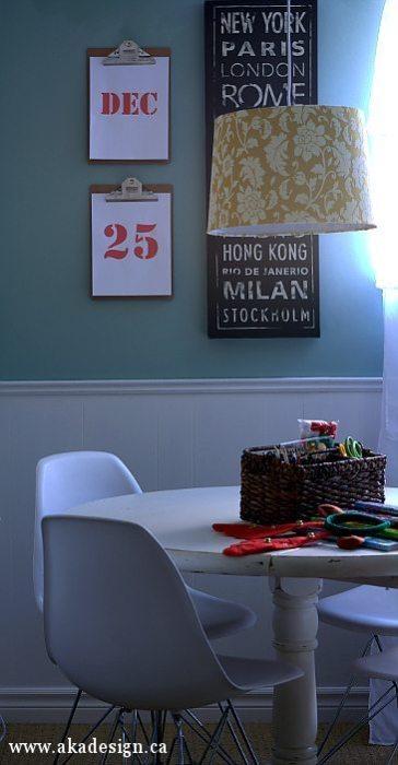 family room games table corner