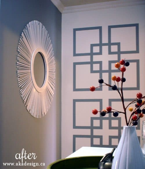 geometric statement wall