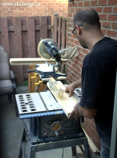 dean sawing table parts