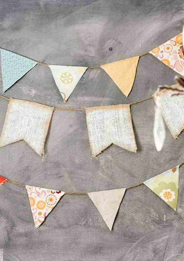6 Easy DIY Banners and Buntings