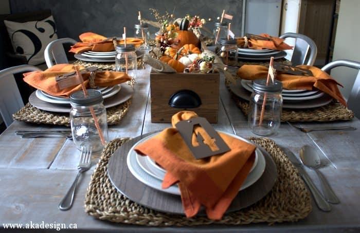 fall table head