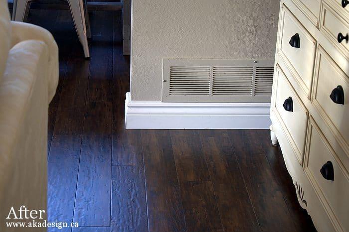 floor near buffet