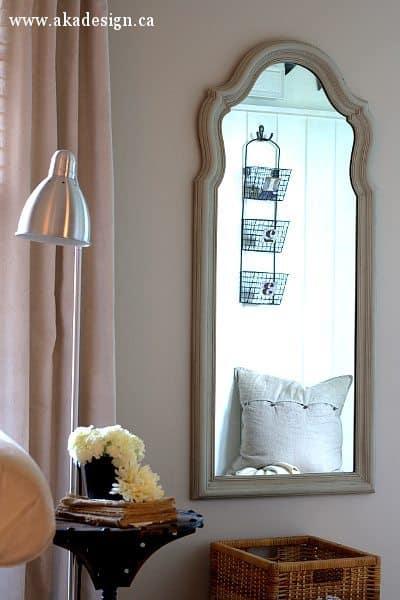 french finish mirror