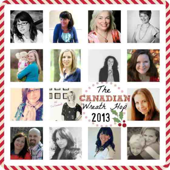 Canadian Wreath Hop Blogger Collage 2