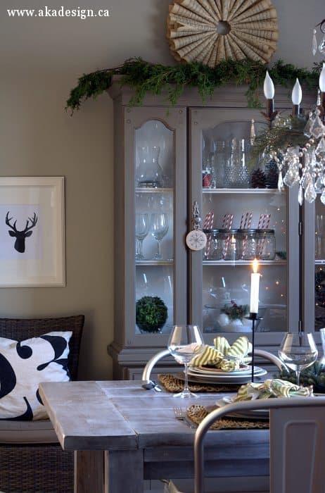 grey hutch sheet music wreath chandelier